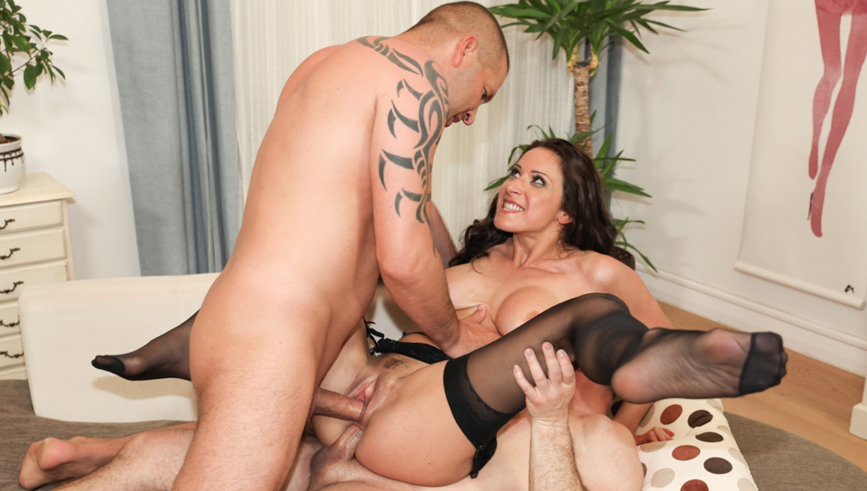John Strong & Thomas Stone & Martina Gold - Assfucked MILFs #08