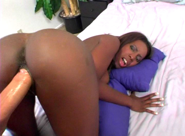 Naughty Hot Black Chick Riding Peter Norths Big Cock