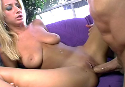 Peter North Have Fun With Cute Blonde & Creams Her Face