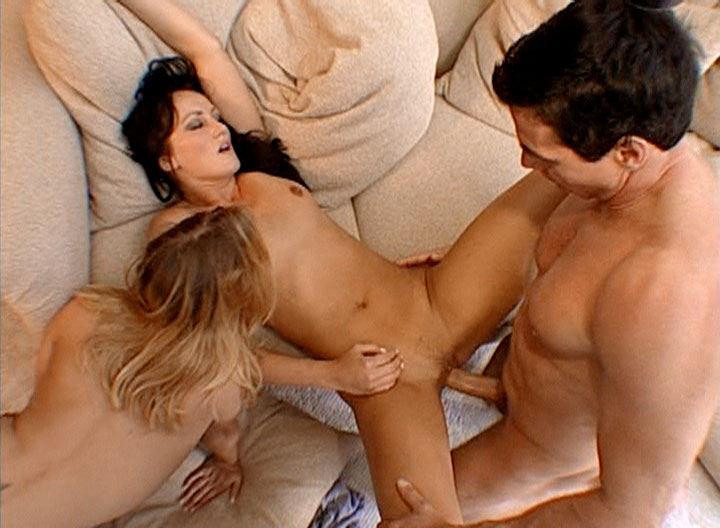 Peter Gets His Cock Sucked By 2 Hot Bitches &Fucks Them Hard
