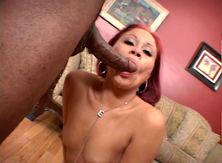 Horny Asian Whore Shows How To Suck & Gag On Cock