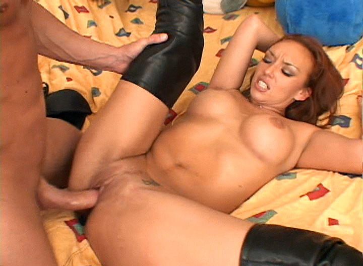 Slut Gags & Gets Her Ass Drilled By Big Fat Cock