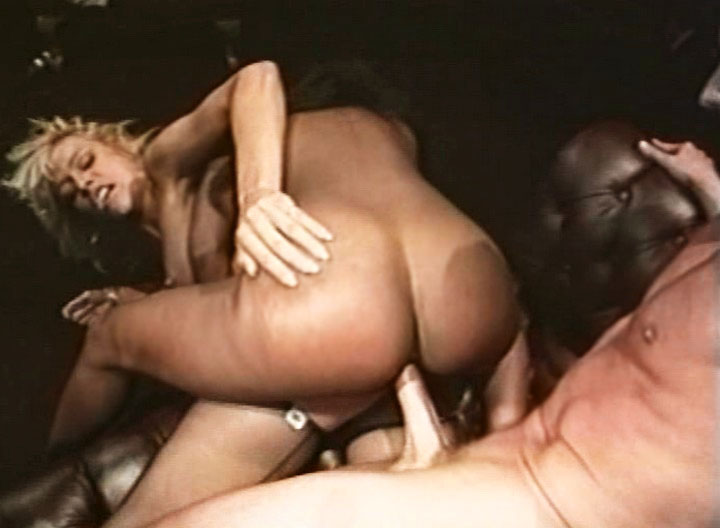 Lucky Peter North Fucks A Horny Blonde & A Nasty Ebony