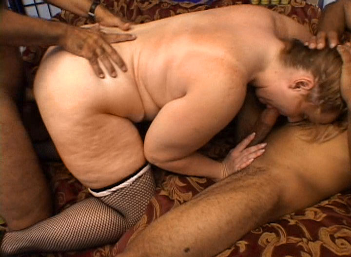 Fat Mature Blonde Getting Her Pussy Drilled By Big Fat Cock.