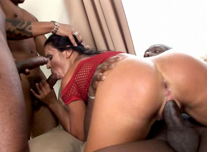 Rough Bbc Interracial Gangbang