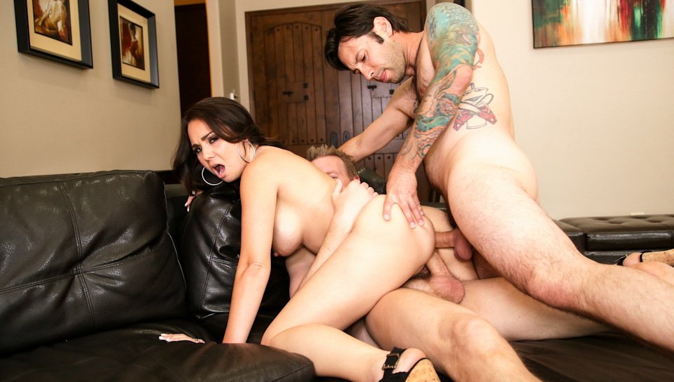 Mark Wood & Tommy Pistol & Holly West - DP My Wife With Me #02