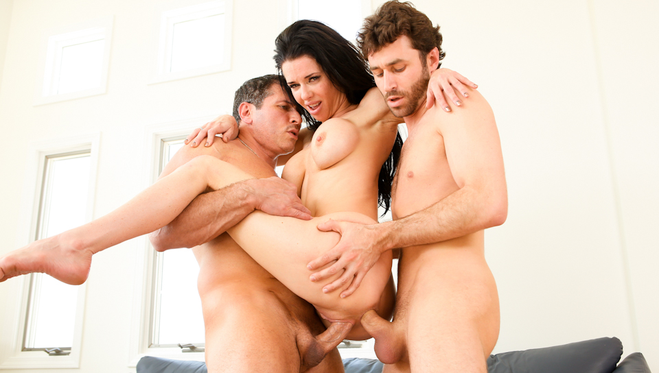 James Deen & John Strong & Veronica Avluv - DP My Wife With Me #02