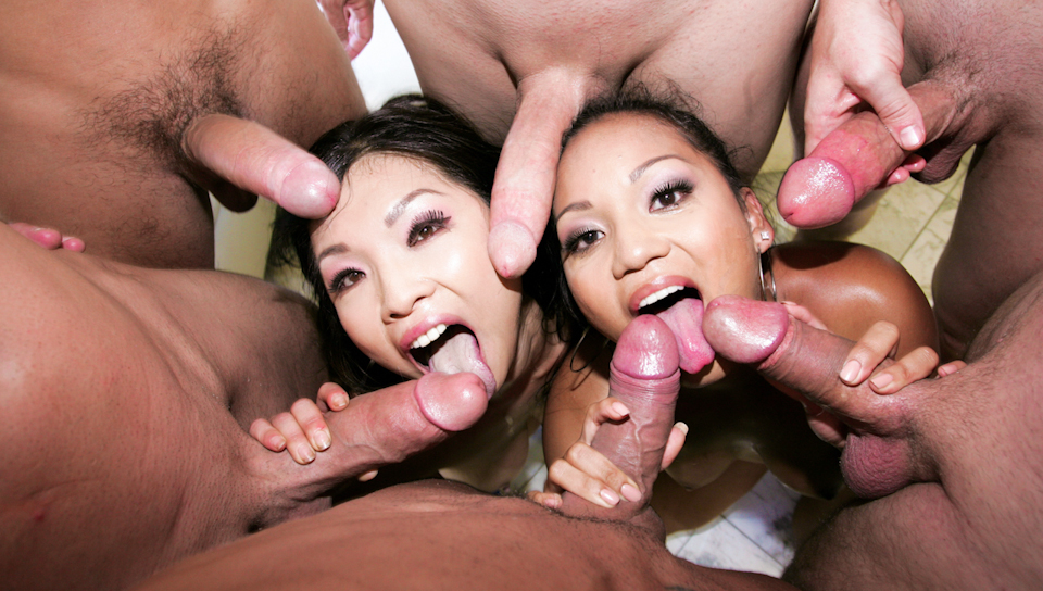 Rough Deepthroat Asian Fuck Faces  02