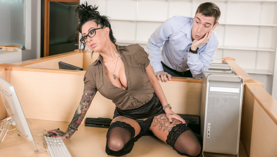 Big Tit Office Chicks #02 - Lily Lane & Patrick Delphia