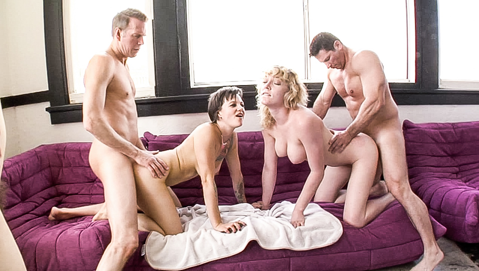 Nothing stop horny pussies: they get fucked hard together!