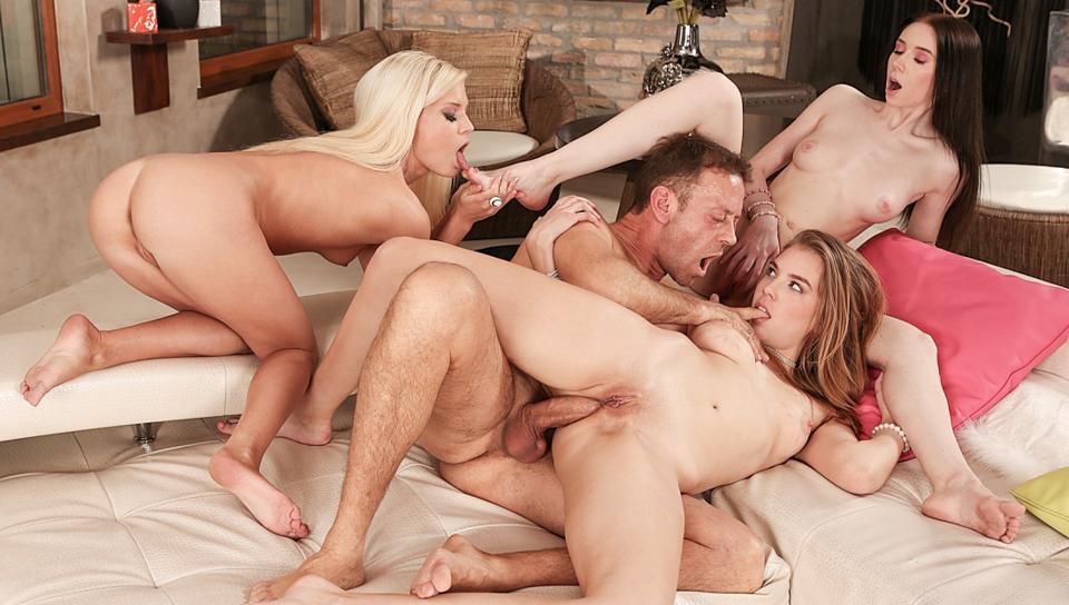 Rocco Siffredi & Candee Licious & Liz Heaven - Rocco's 3-Slut Anal  Fetish Fantasy