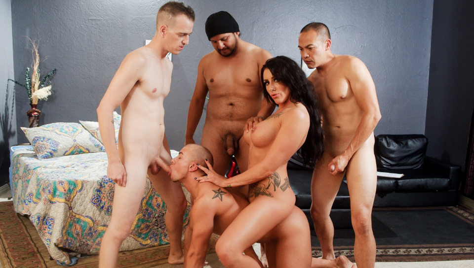 Bi Cuckold Gang Bang #07