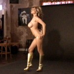 Tera Patrick Photoshoot Gold and Black