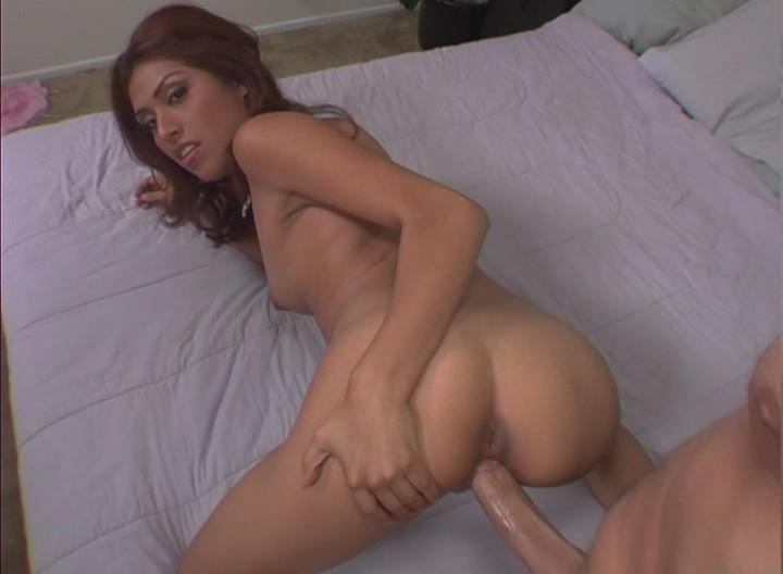 Sexy Latin Slut Enjoys Sucking & Fucking Peter's Big Cock