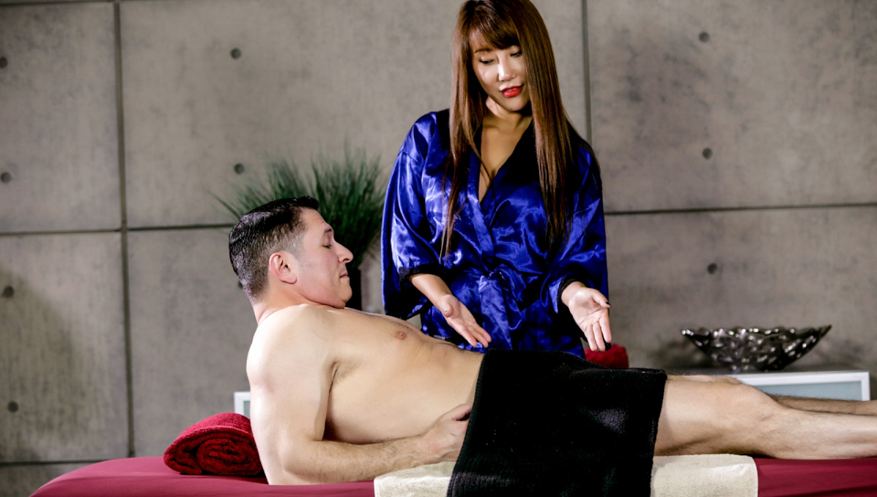 John Strong & Tiffany Rain - Asian Strip Mall Massage #04