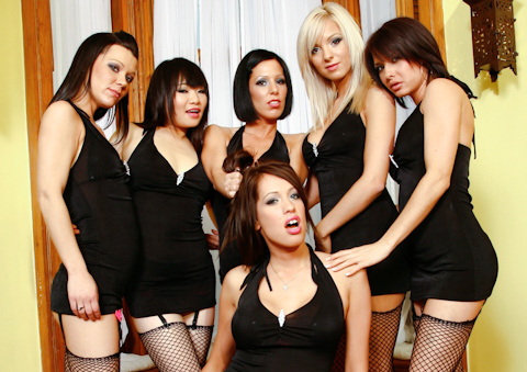 Girly Gang Bang #10