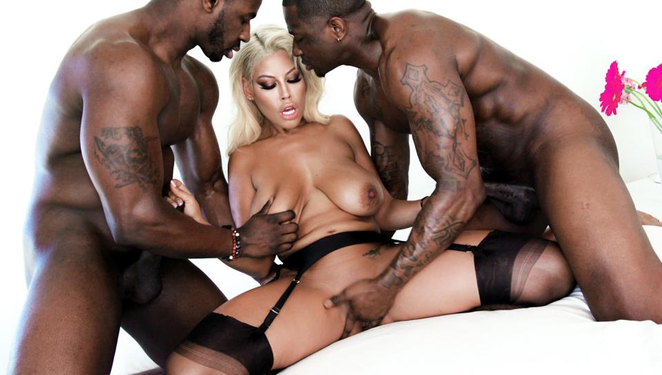Bridgette's Interracial Anal Threesome - Bridgette B. & Rob Piper & Jax Slayher