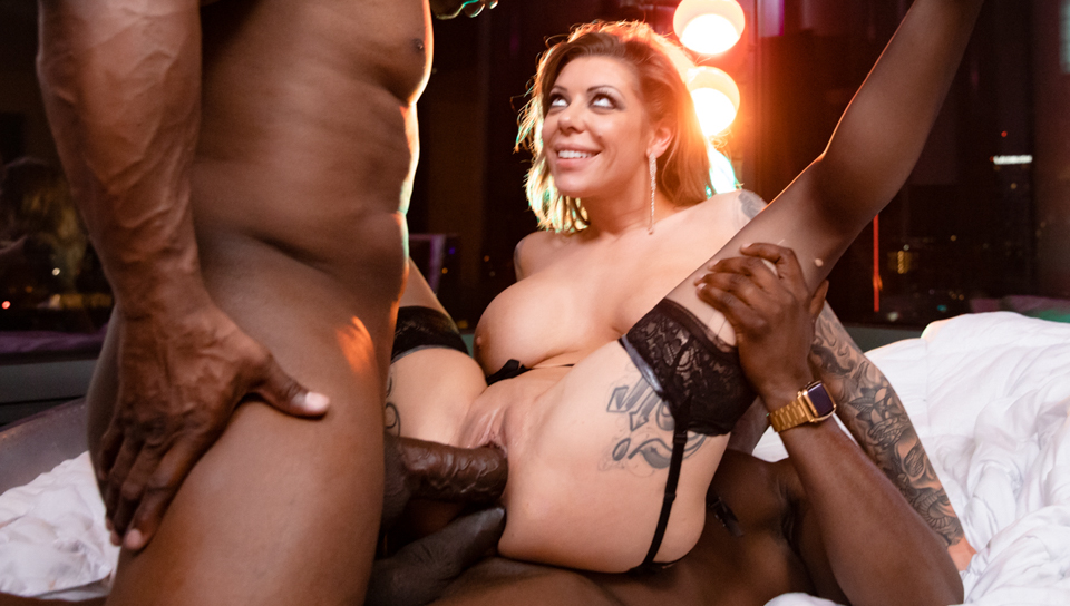 Nina Elle Interracial Anal