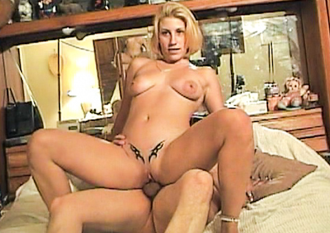 Hot and tattooed blonde fucks in secret from her boyfriend,