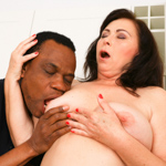 Grandma Tilda craves to be fucked by a big black cock