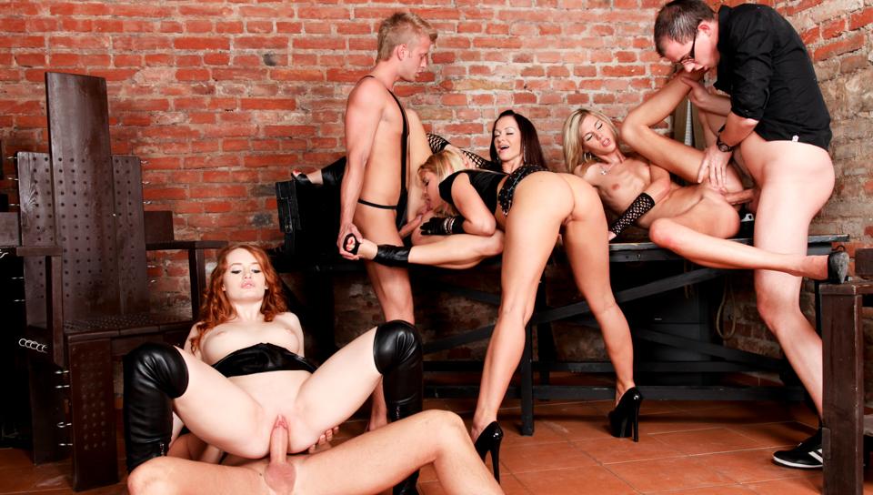 Stacy Silver & Mark Zicha & Wein Lewis - 5 Incredible Orgies #02