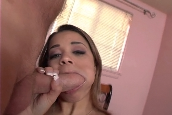 Breasted Chavon Taylor Loves To Gag On A Big Cock