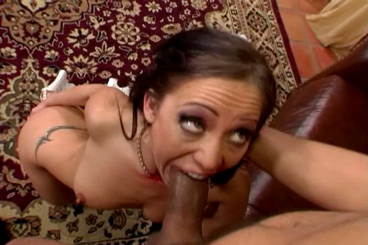 Brunette gets her pussy drilled by that dude on that video