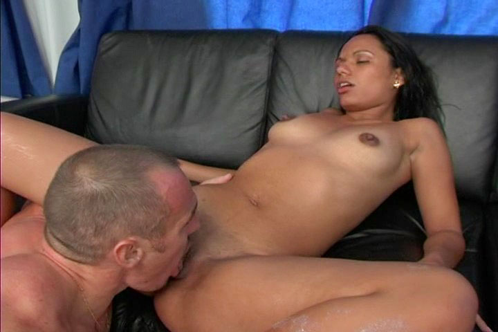 Latina With Black Hair Rides A Big Cock & Gets Fucked Nicely