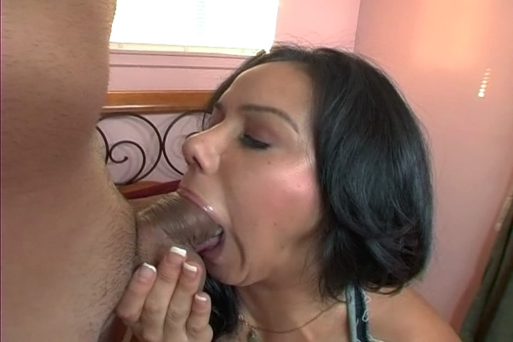 Horny Nadia Styles Enjoys Blowing A Big Cock & Getting Cum