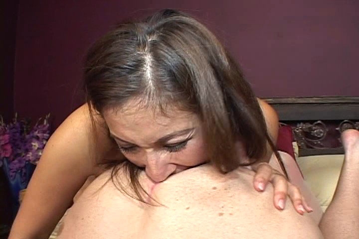 Sexy Brunette Gets Fucked & Eats Man'ass Incredibly Nice