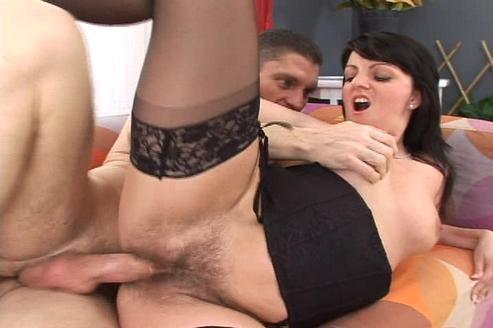 Horny Lena With Nice Hairy Pussy Gets Drilled Hardcore