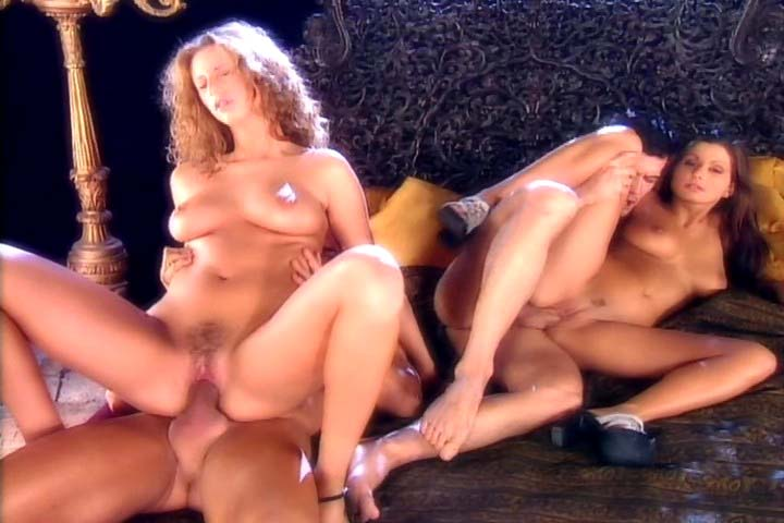Very exciting four some scene with 2 gorgeous chicks in here !