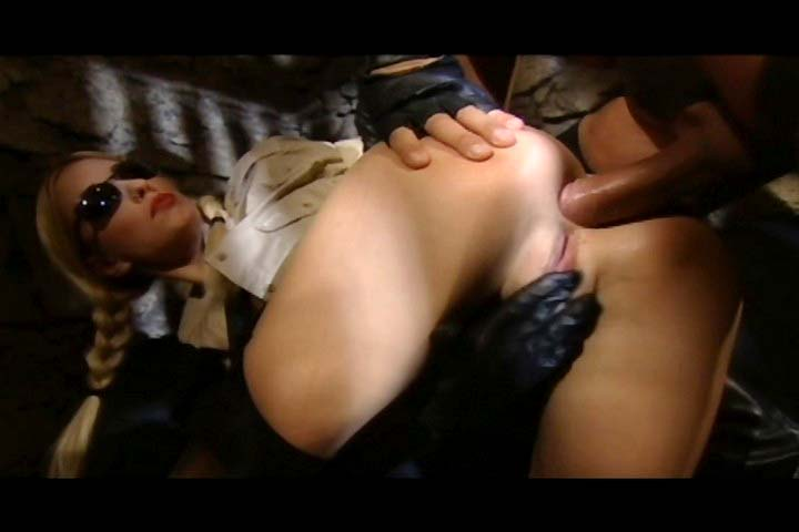 Dominatrix gets her ass pounded very hard by her slave