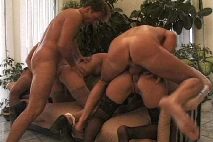 Luscious group sex action with amazing horny gals ! 