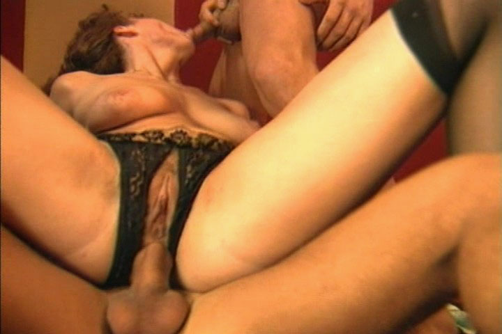 Babes fucked wild and one of them gets double penetrated!
