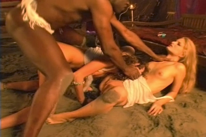 Black Dick Drilling Horny Bitches In Their Tight Assholes