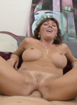 Huge fake tits 03. Voluminous cock gets sucked and fucks chicks