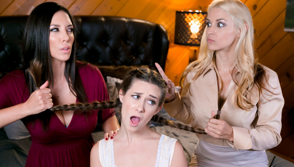 Sarah Vandella & Jelena Jensen & Cassidy Klein - Mom And Mommy