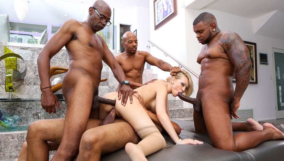 Sean Michaels & Rico Strong & Kagney Lynn Karter - Blacked Out