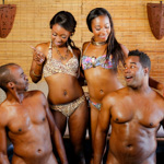 Black royalty is looking for the special nuru massage