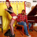 Leigh Raven the entitled brat gets a fucking piano lesson