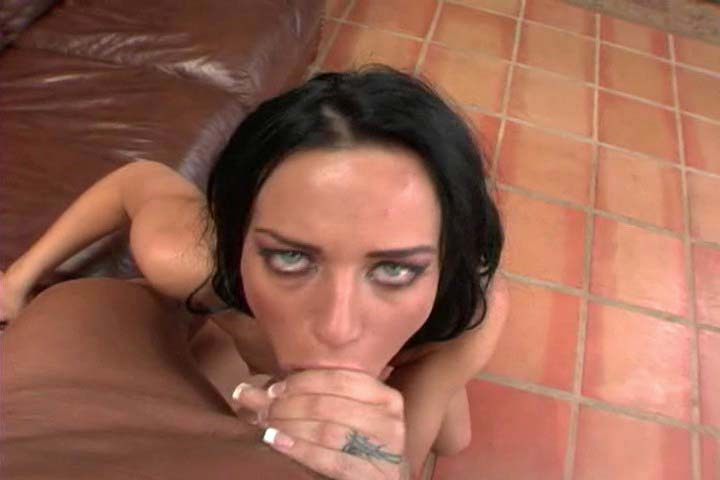 Gorgeous dark haired babe gets fuck in this hot video