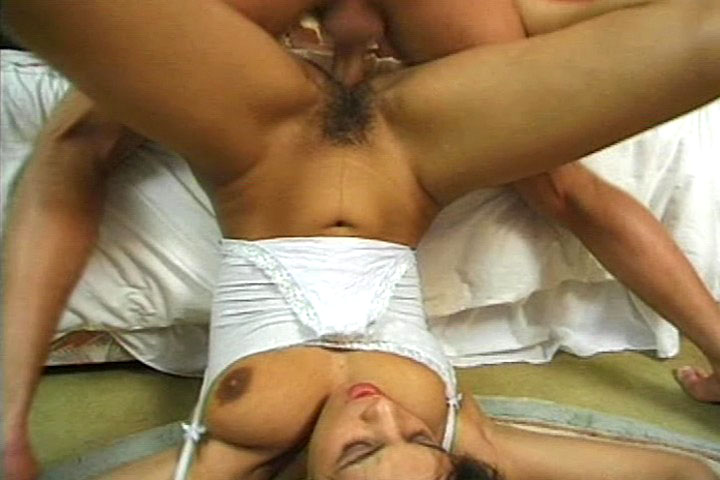 Very hot and horny couple fucking in the bedroom in here 
