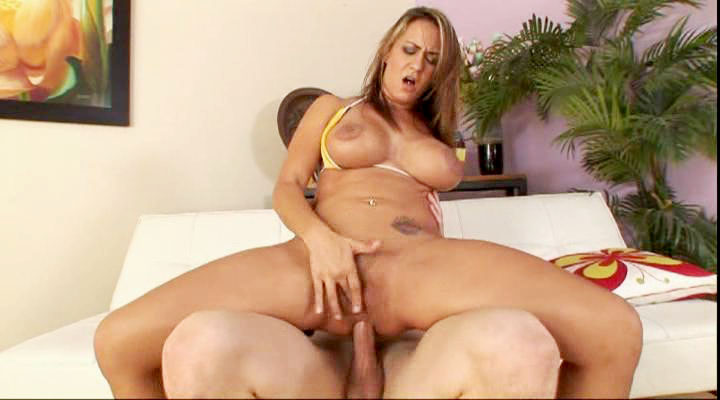 Busty MILF takes it anal style after giving good blowjob!