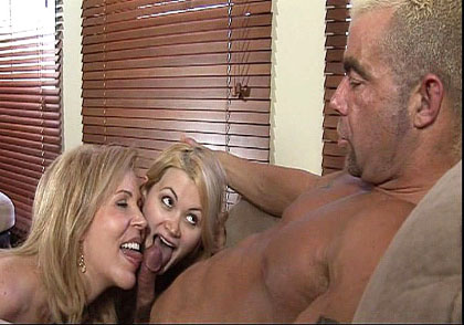 Mothers Teaching Daughters rattling To Suck Cock