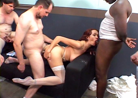 Nasty Nurse With Huge Boobs Having A Gang Bang At Work!