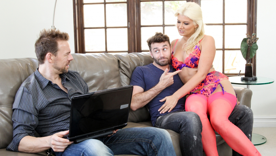 James Deen & Erik Everhard & Layla Price - DP My Wife With Me #08