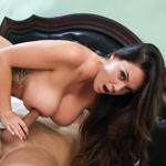 Big tittied Alison Tyler sucks and fucks a big hard prick.