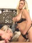 Mother and daughter cocksucking contest 04. First a banana then a real cock, a girl learns how to suck.. Devon Lee,Kaylee Hilton,Marcus London. large Breast,Blowjob,Teens,Blonde,Mature/MILF,HD Movies