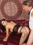 Filthy ladyboy sluts 14. Asian shemale in excited fishnets gets make love in tight asshole.. Venus Lux,Mark Frenchy. shemale / shemale
